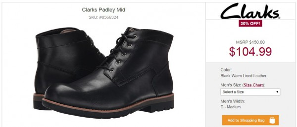 Clarks Padley Mid