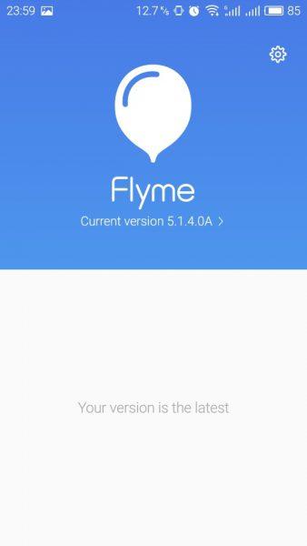 Flyme 5.1.4.0A