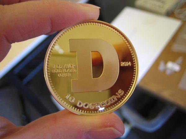 10 gold dogecoin