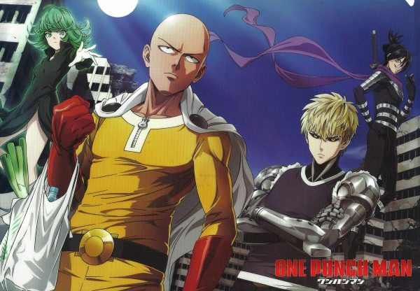 one punch man, ванпанчмэн
