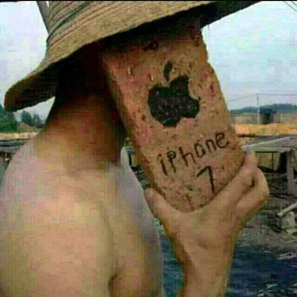 iphone кирпич