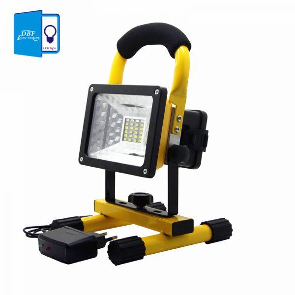 Переносной прожектор на светодиодах