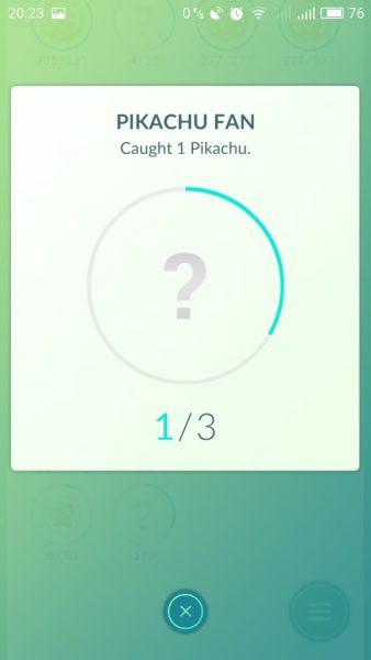 pikachu медаль фаната