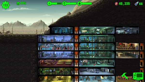 fallout shelter развиваем убежище