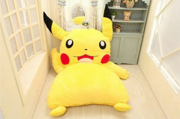 pokemon pikachu bed
