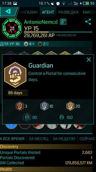 Ingress Guardian AntonioNemcd