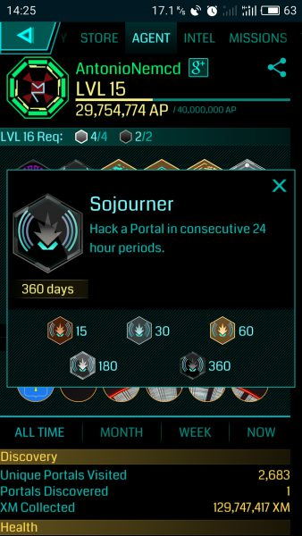 Ingress Sojourner onyx 360