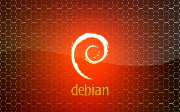 debian orange monkeymagico 1680x1050
