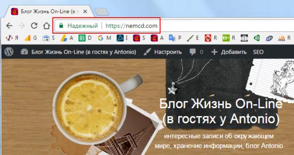 Перевод сайта на HTTPS