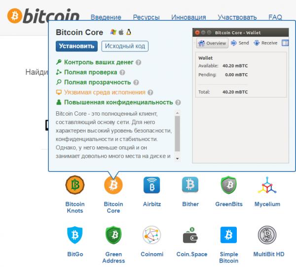 bitcoin core улучшения
