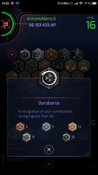 AntonioNemcd Onyx Ouroboros Ingress Prime