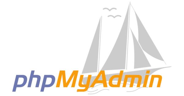 phpmyadmin logo white