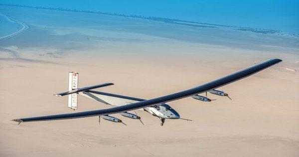 solarimpulse, самолет на солнечных батареях