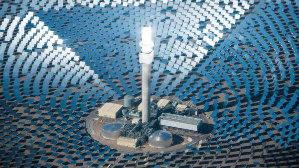 Solar Reserve грандиозные башни