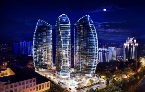 Taryan Towers башни дом Киев