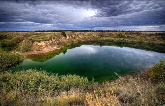 Как найти соленое озеро в Харьковской области