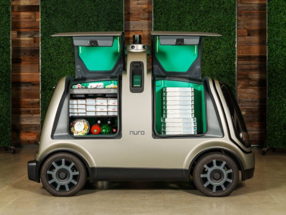 Nuro беспилотные фургоны