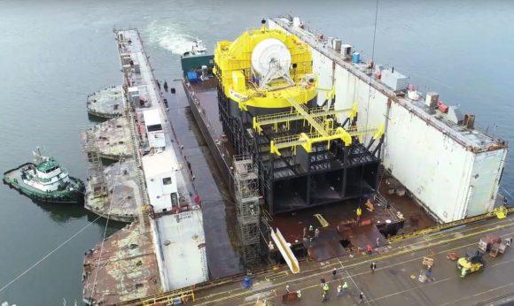 OceanEnergy Wave Buoy океанический буй