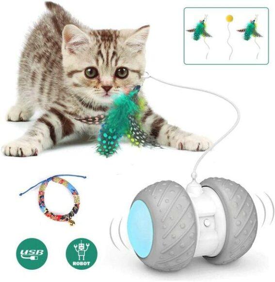 cat robot toy современная игрушка для котов