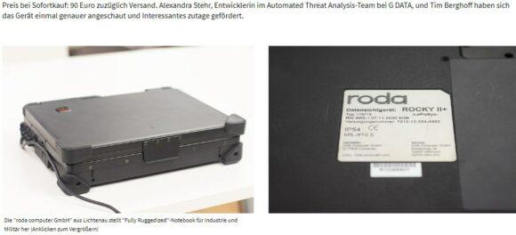 На eBay за 90 евро продавался ноутбук с документацией секретной оборонной системы НАТО