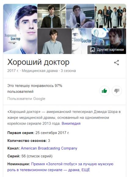 Good Doctor Google