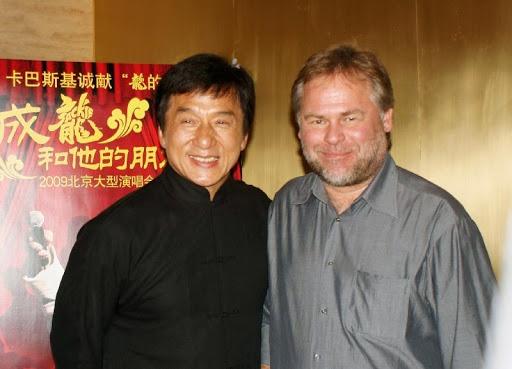 Джеки Чан и Евгений Касперский