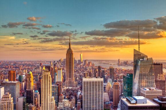 New York, Нью-Йорк, небоскребы, красота