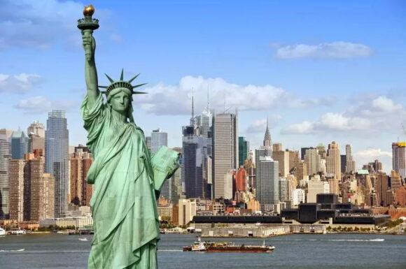 USA, Америка, Статуя Свободы