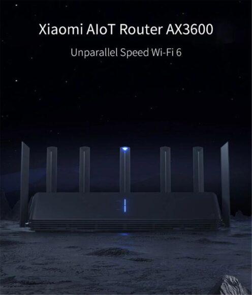Xiaomi AX3600 Wi-Fi 6 крутой вид