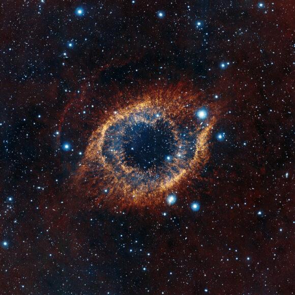 Helix Nebula (NGC 7293), Глаз Бога, Туманность Улитка